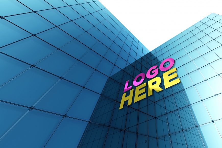 Free-Download-Exterior-Building-Glass-Wall-Logo-Mockup