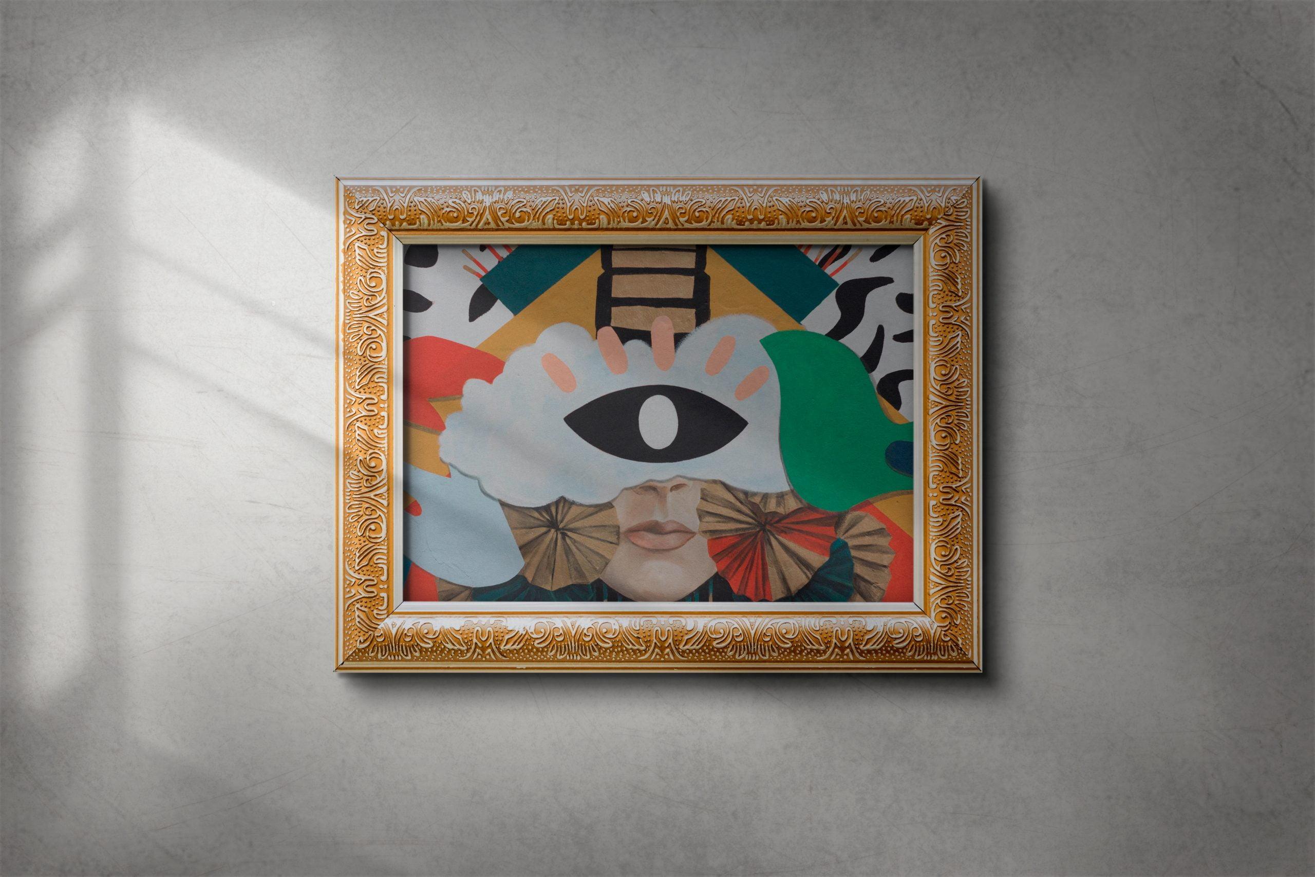Free-Download-Painting-Frame-Mockup