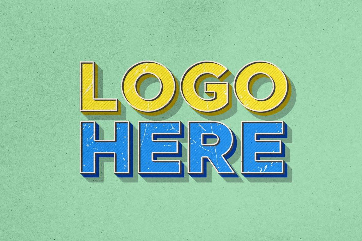 Free-Download-Vintage-Effect-Logo-Mockup