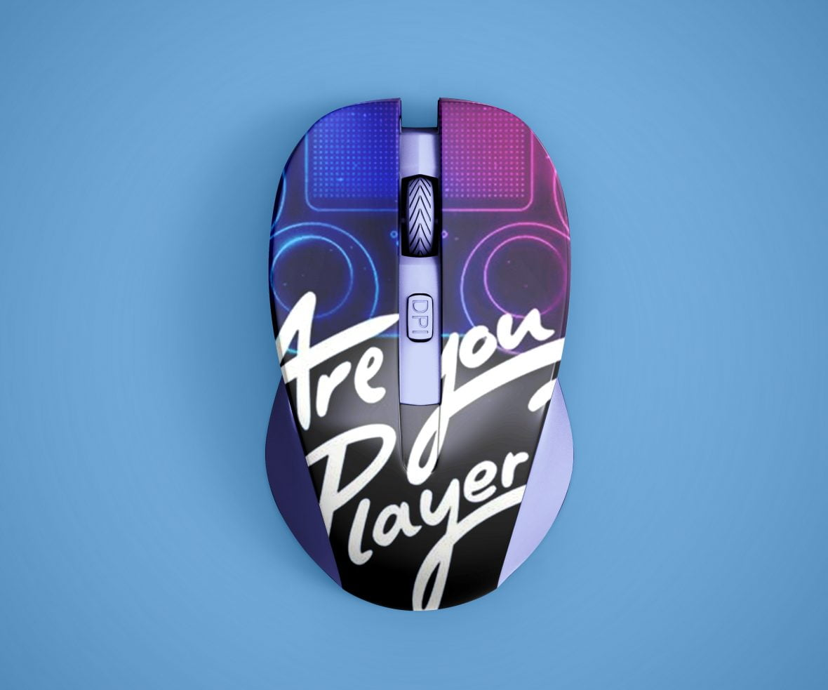 Gaming Mouse Mockup by GraphicsFamily