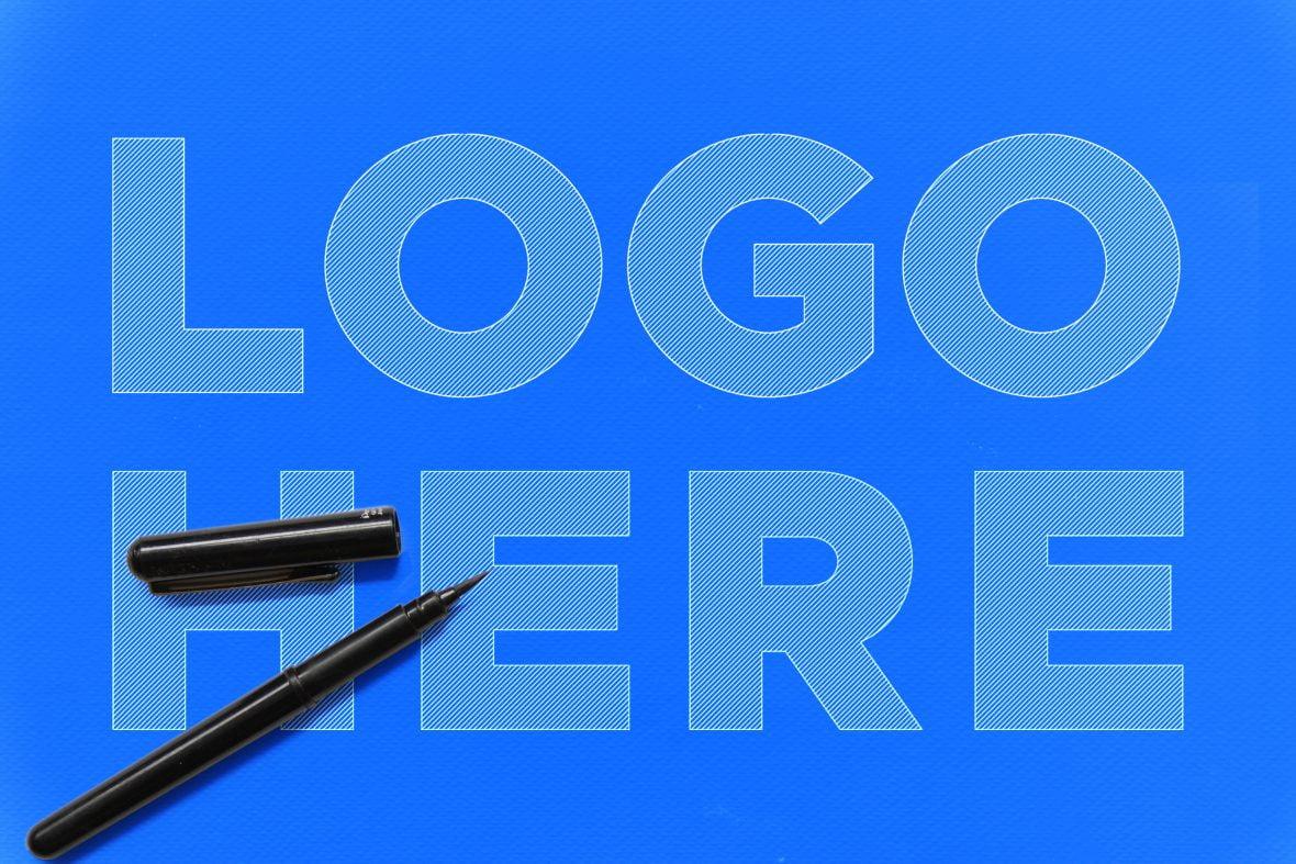 Free-Logo-Outline-Sketch-Logo-Mockup