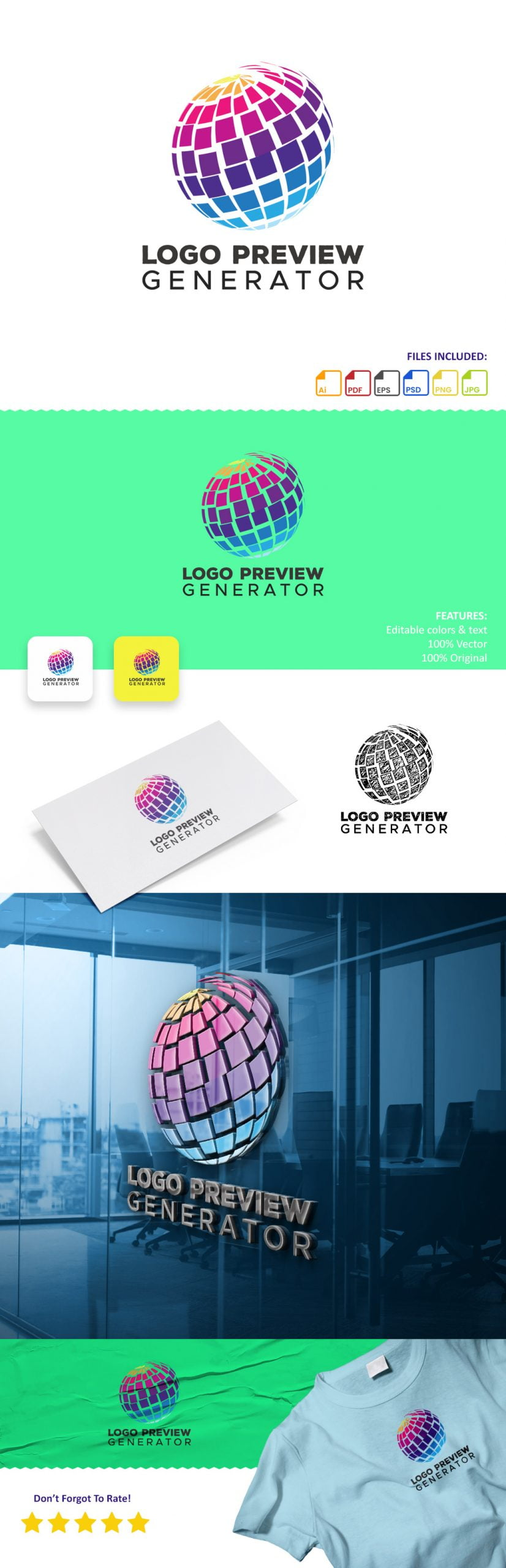 Free Logo Preview Image Generator