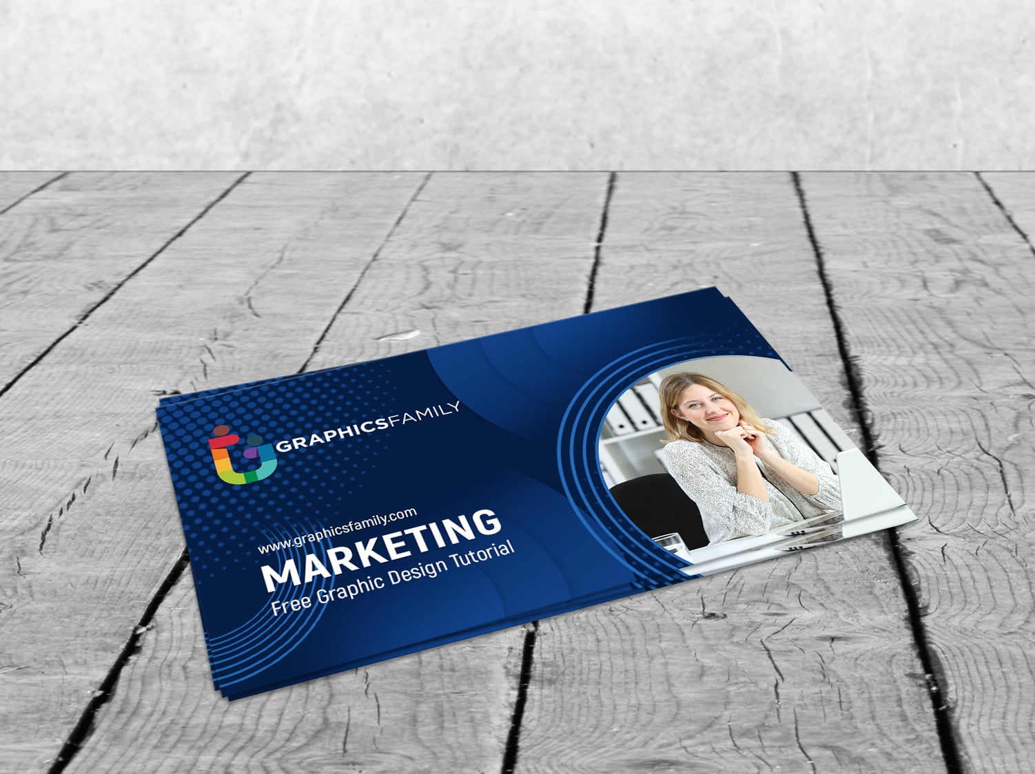 Free Marketing & Communications Business Cards Template