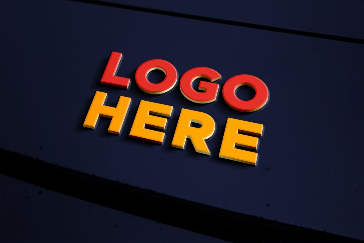 Metal Logo Effect by GraphicsFamily