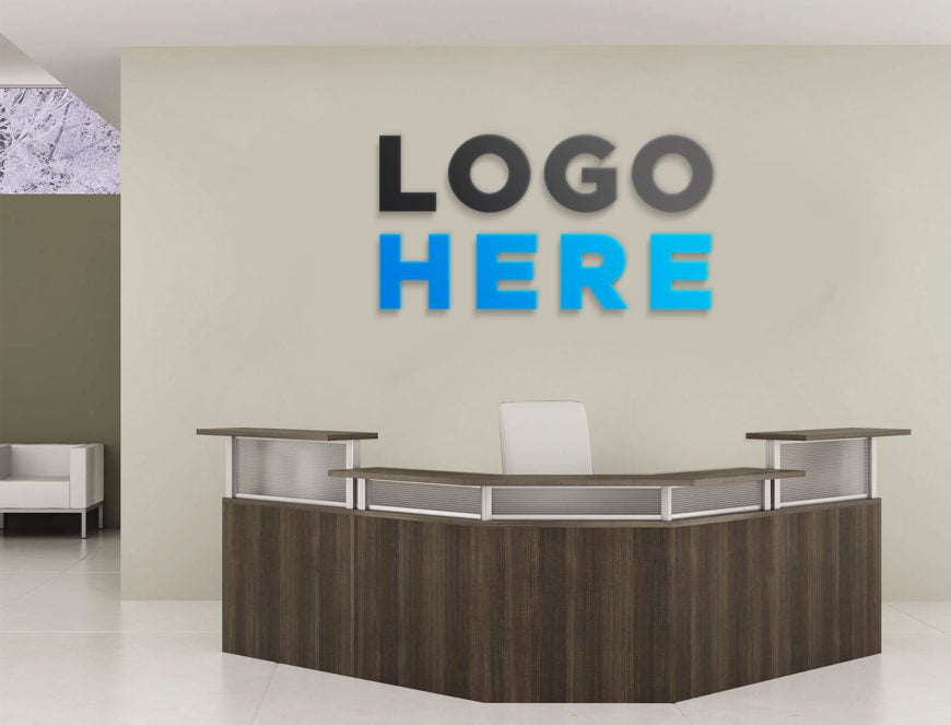 Free-Office-Front-Desk-Logo-Mockup