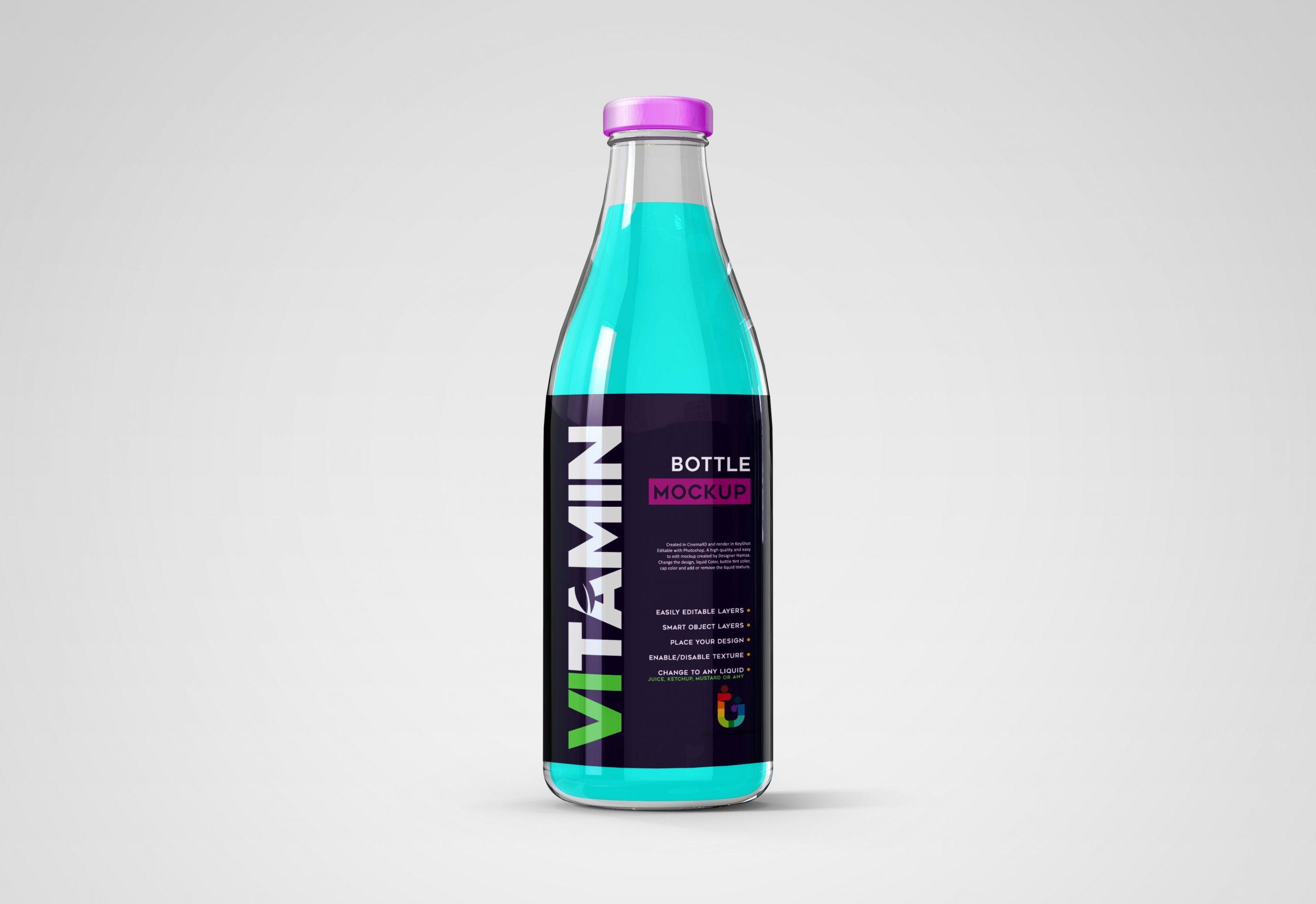 GraphicsFamily-Juice-Bottle-Mockup