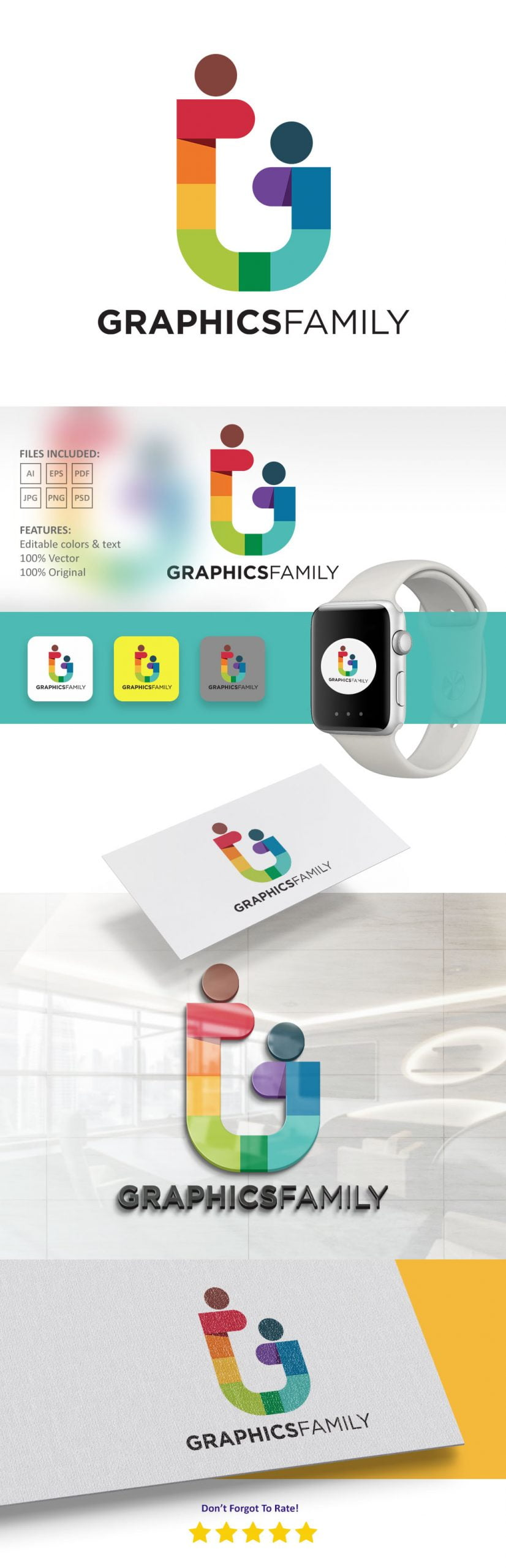 GraphicsFamily-Modern-Logo-Preview