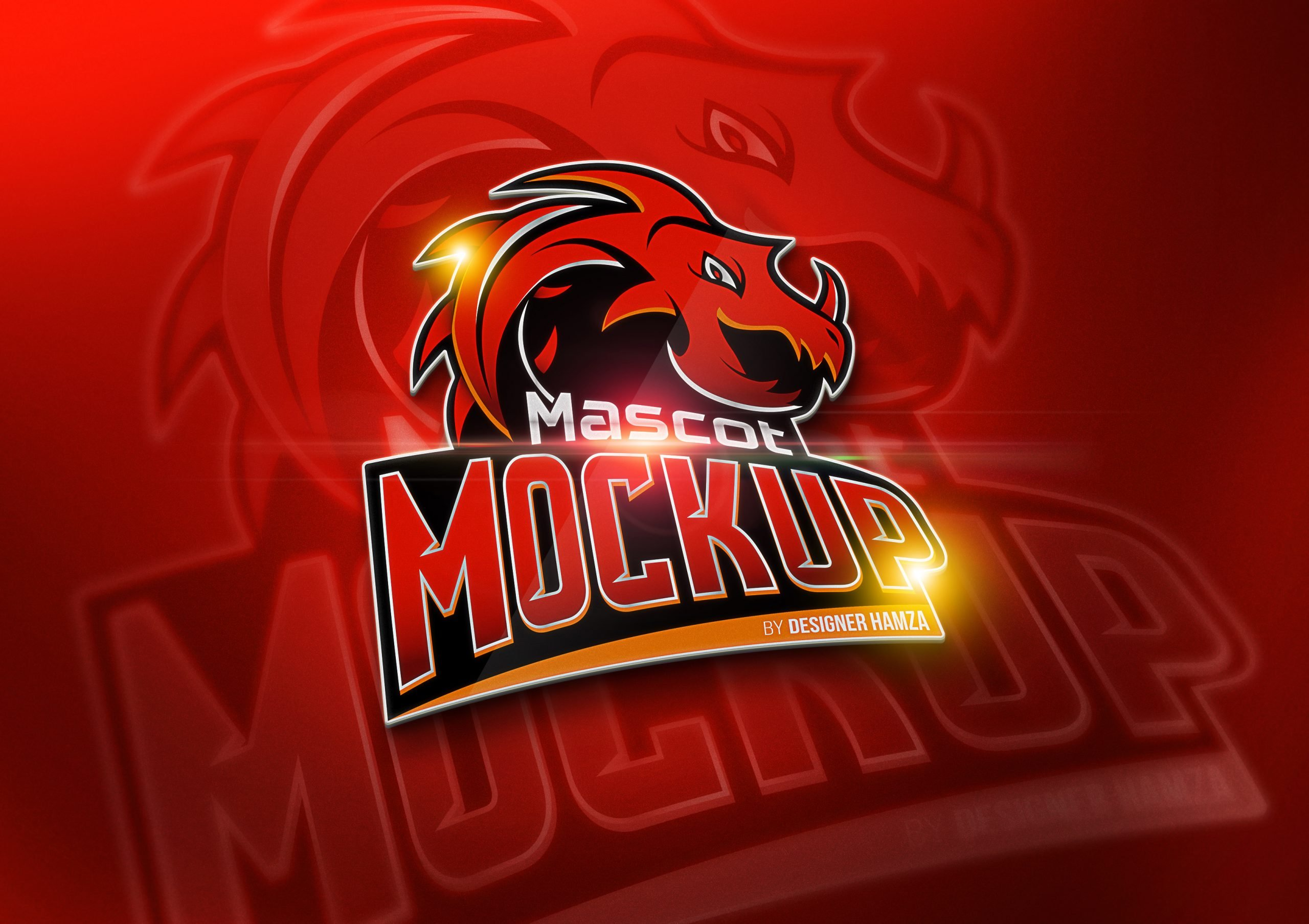 Mascot Logo Mockup