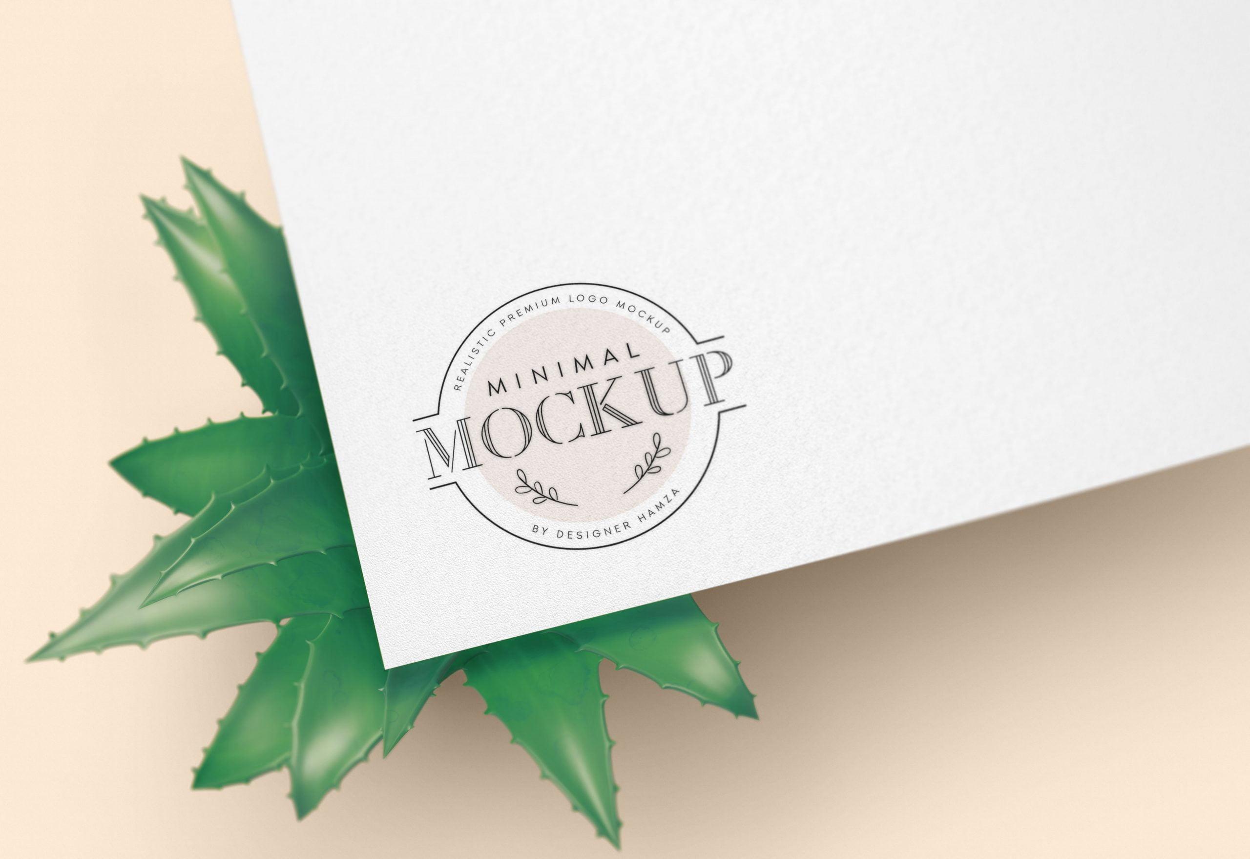 Minimal Logo Mockup