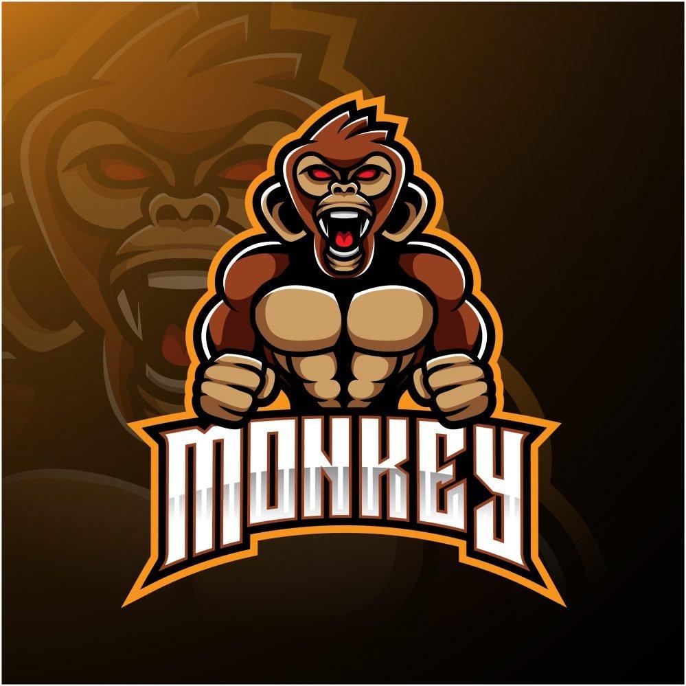 Monkey Esports Logo Design
