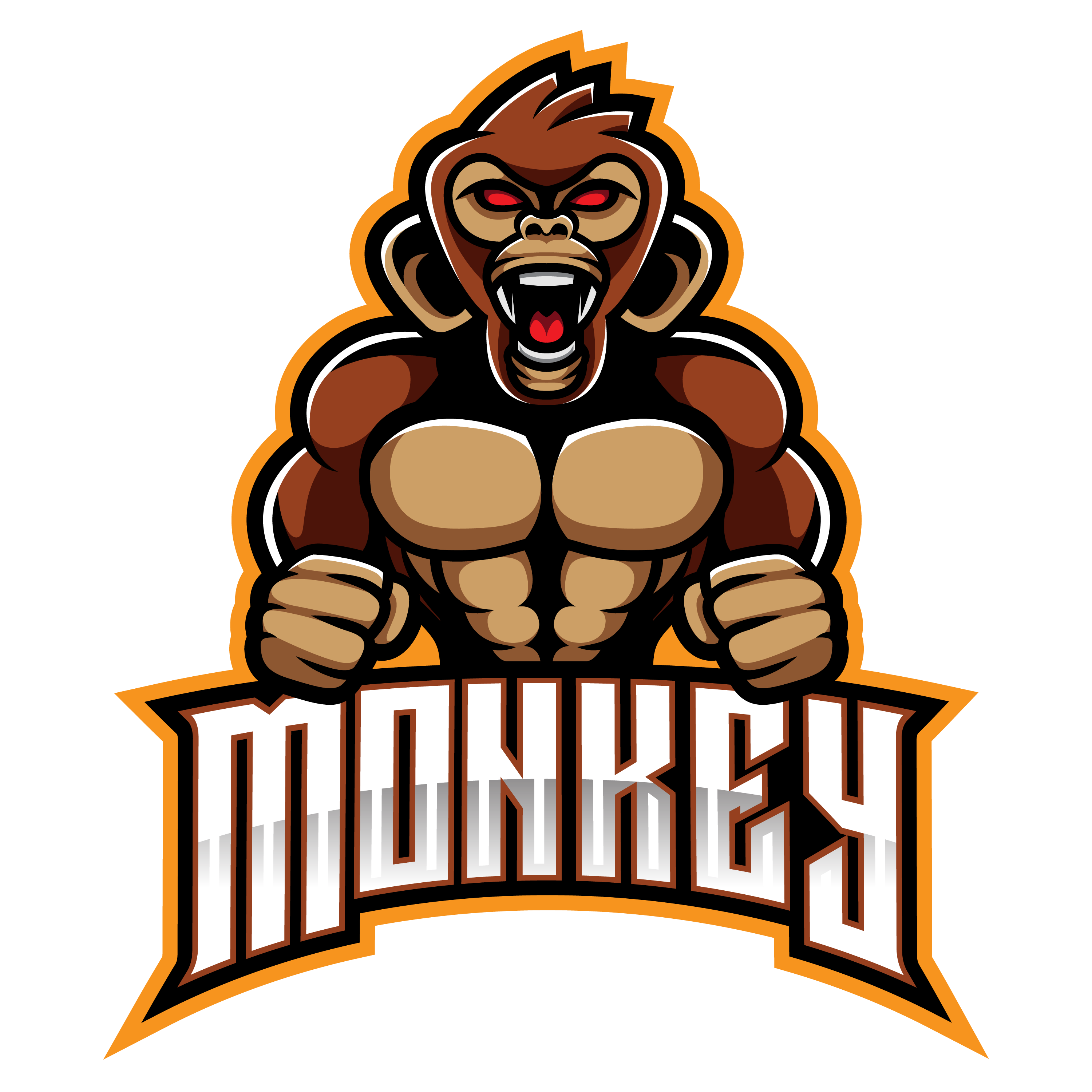 Monkey-Esports-Logo-Design-PNG-Transparent