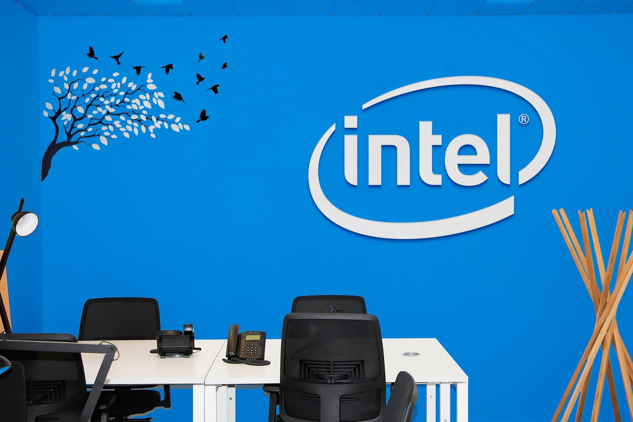 Office Room Mockup Intel
