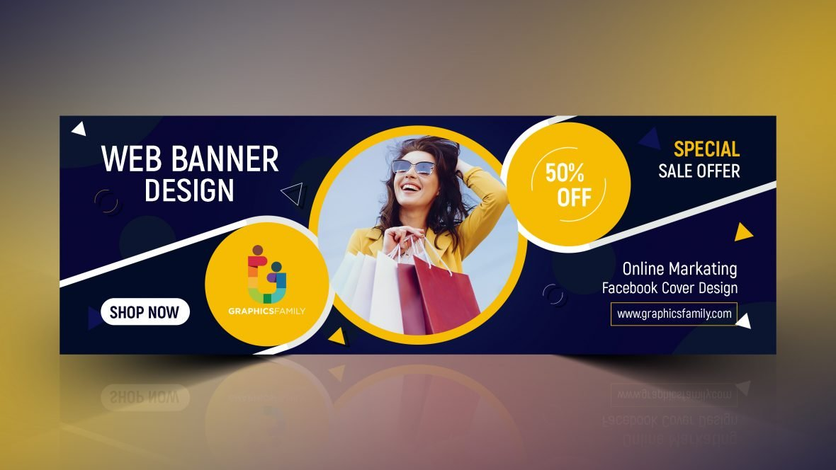 Online Marketing Facebook Cover Design Download