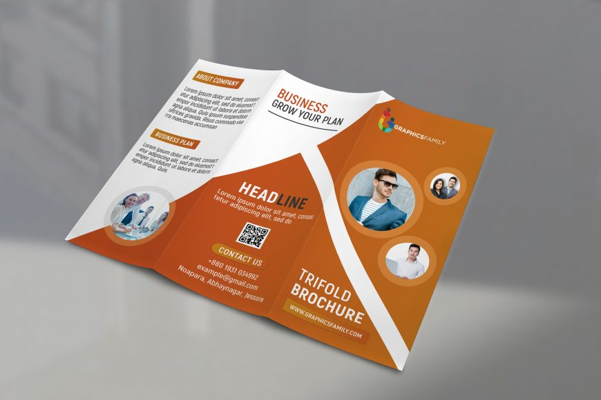 Professional Tri Fold Brochure Template Download