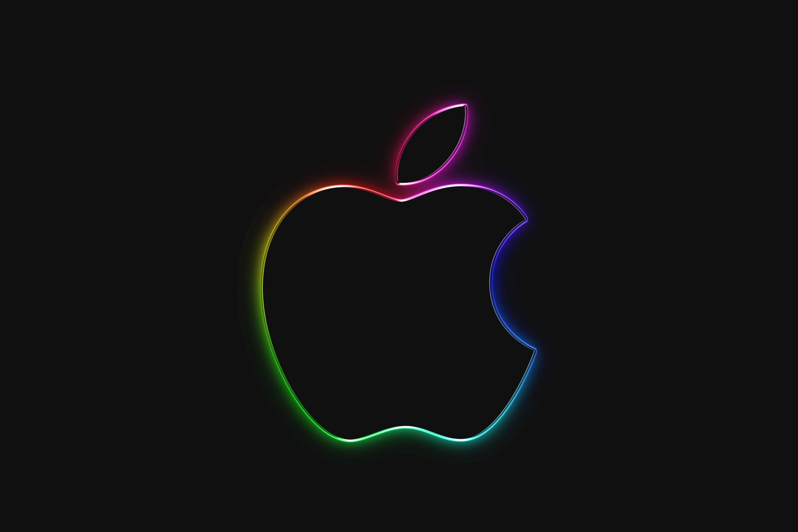 RGB Logo Mockup Apple