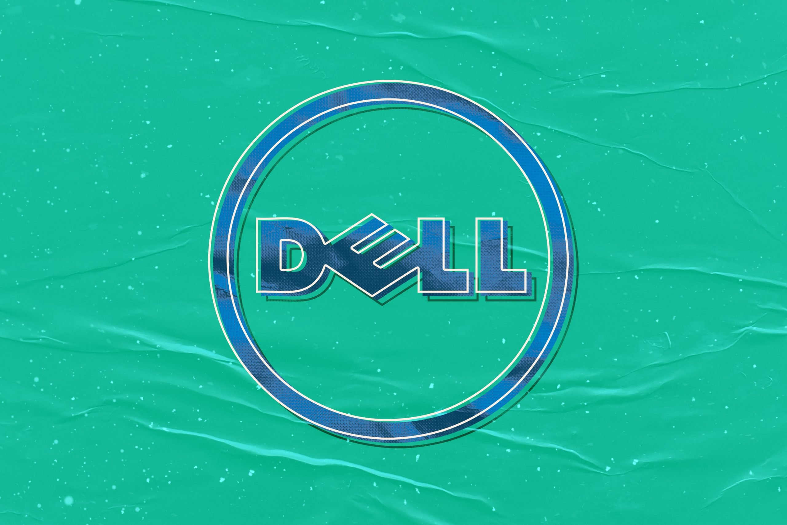 Retro Logo Mockup Dell