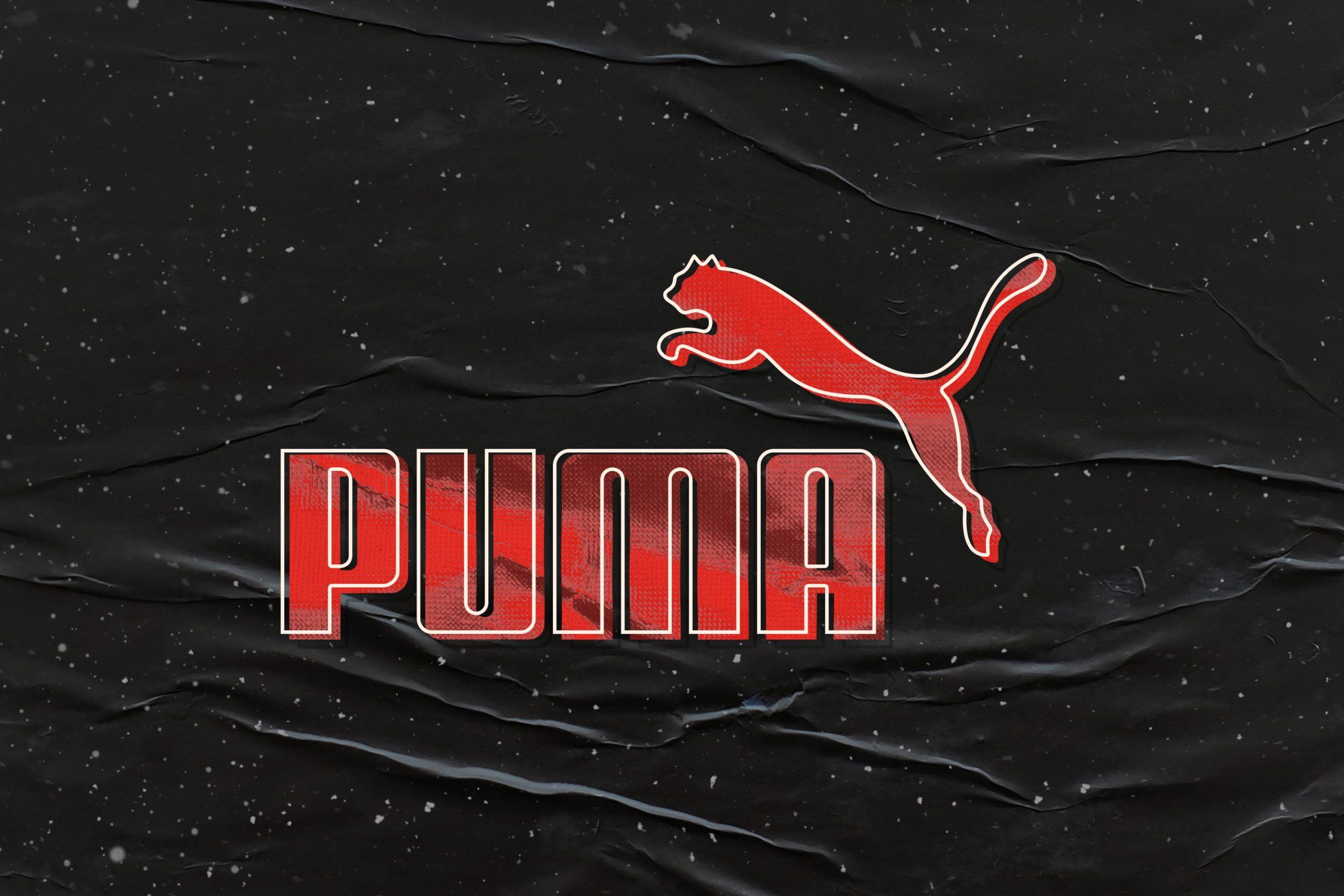 Retro Logo Mockup Puma