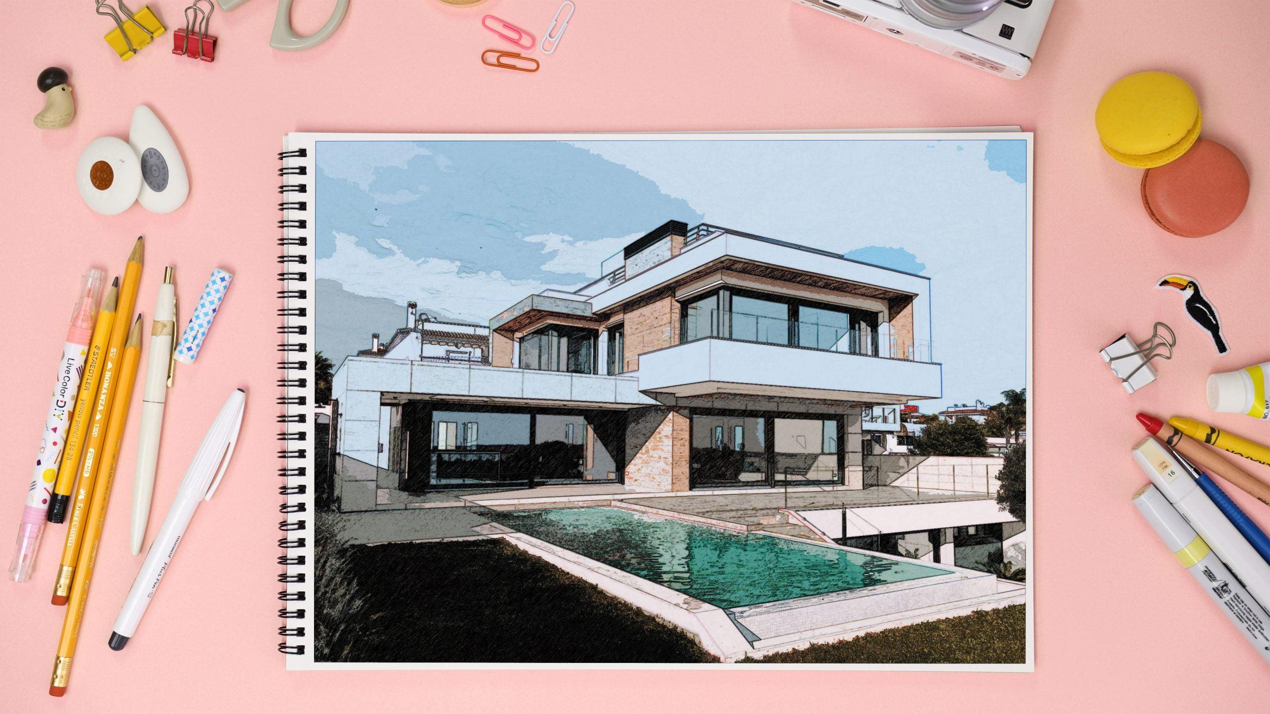 Sketchbook Mockup 3