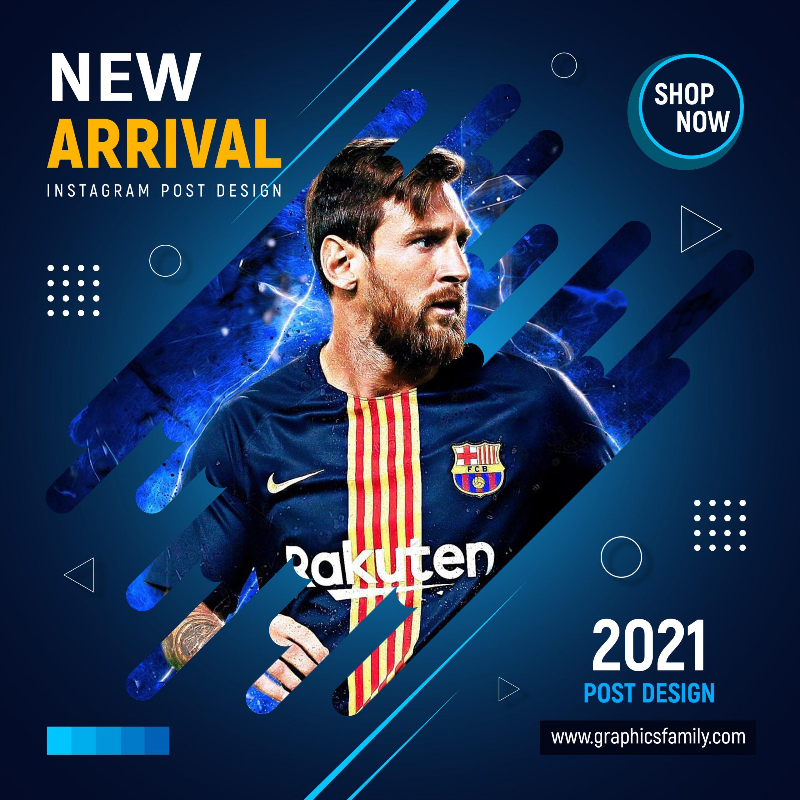 Sports eCommerce Instagram Post Design Download