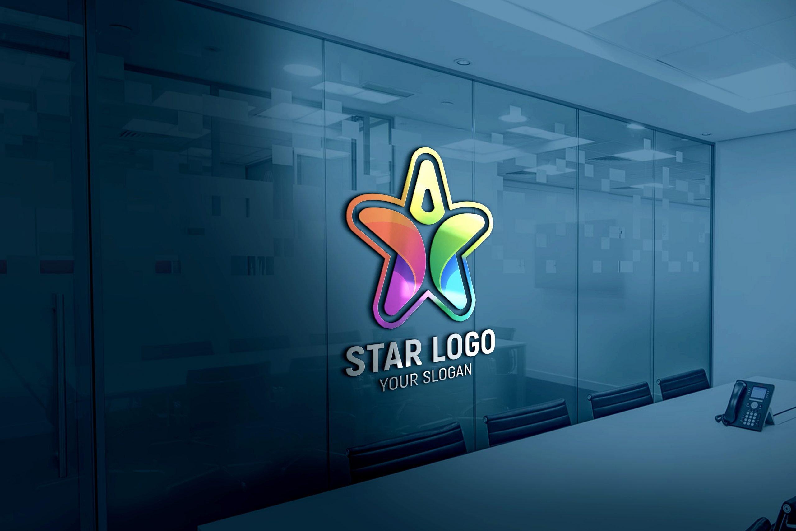 Star Person Logo Design 1