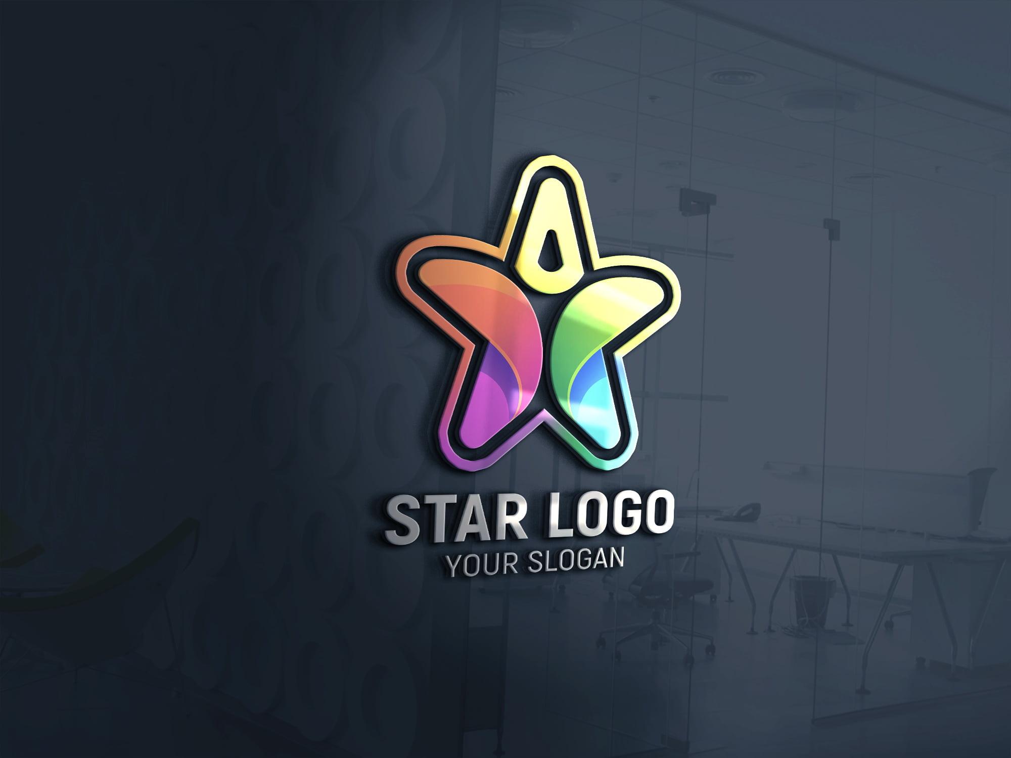 Star Person Logo Design