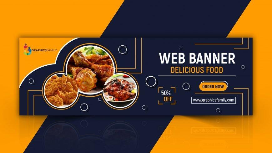 Tasty Food Web Banner Design