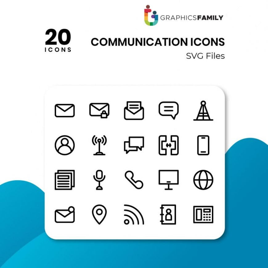 free communication icons