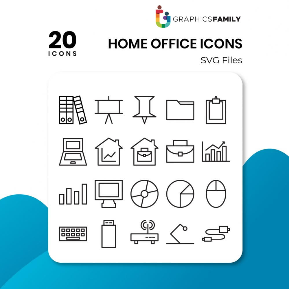 free home&office icons