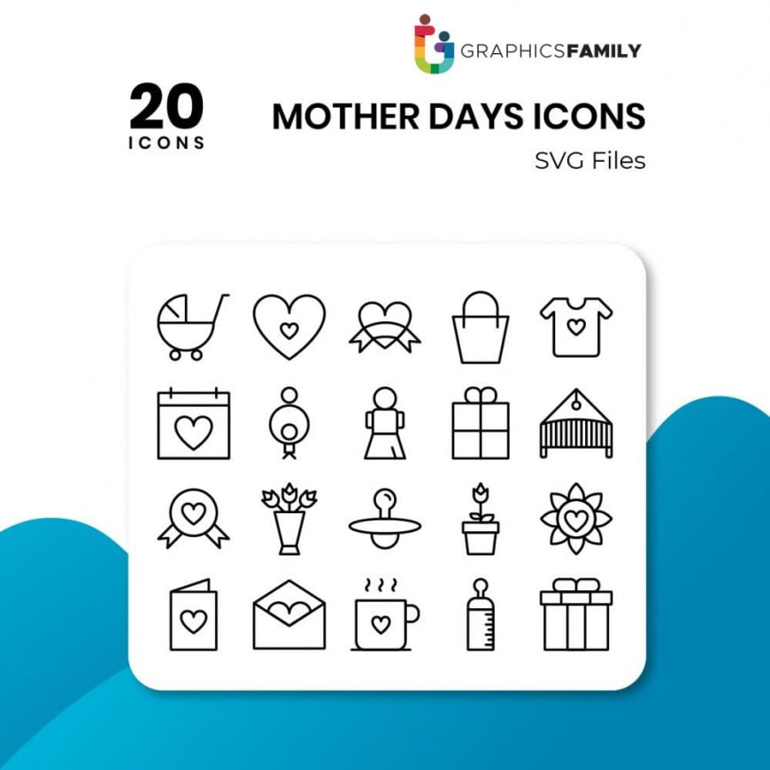 free mother days icons