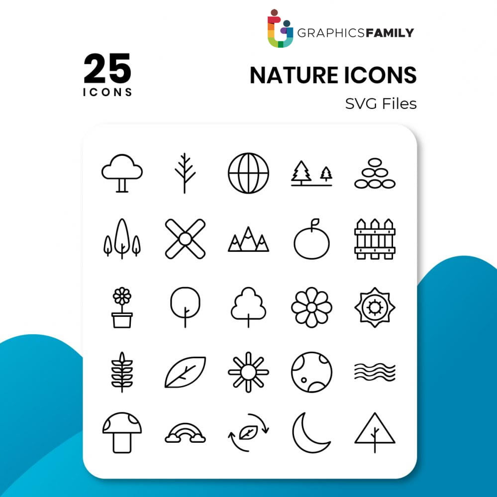 free nature icons
