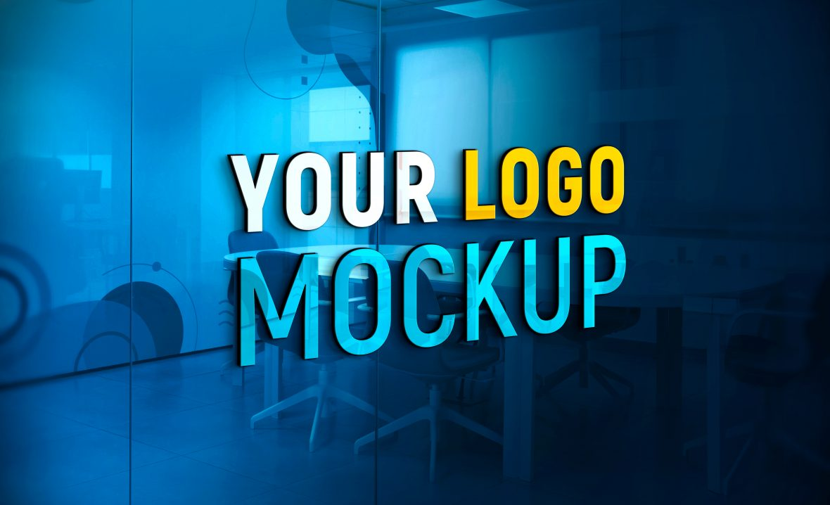 3D-Logo-Mockup-on-Office-Glass-Wall-by-GraphicsFamily