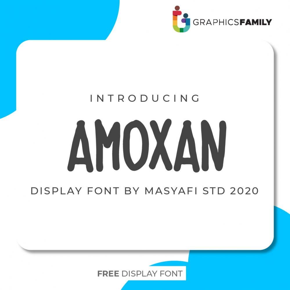 AMOXAN FONT