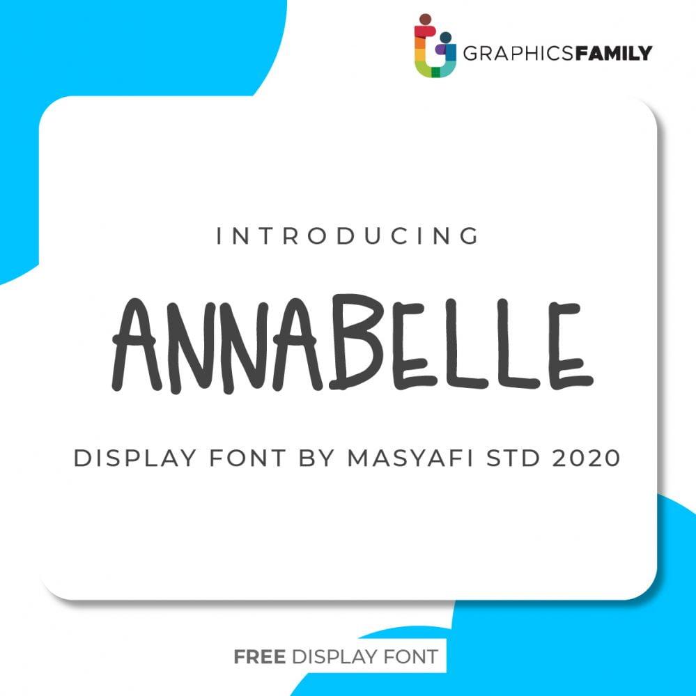 ANNABELLE Font Download