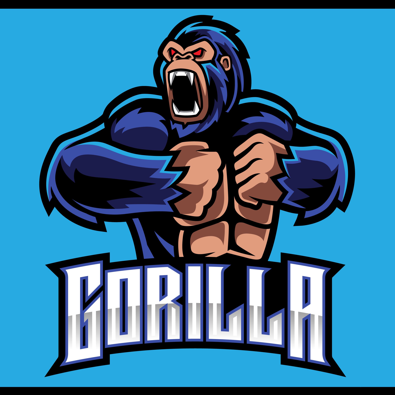 Angry-Gorilla-Esports-Mascot-Logo-PNG-Transparent