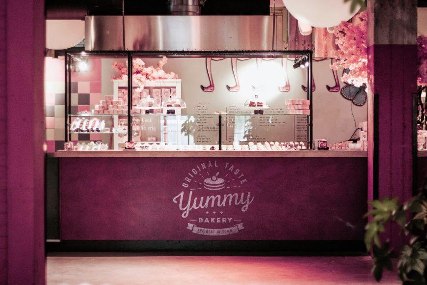 Bakery Shop Logo Mockup Free Download
