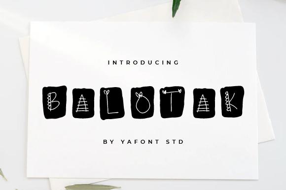 Balotak-Font-Download