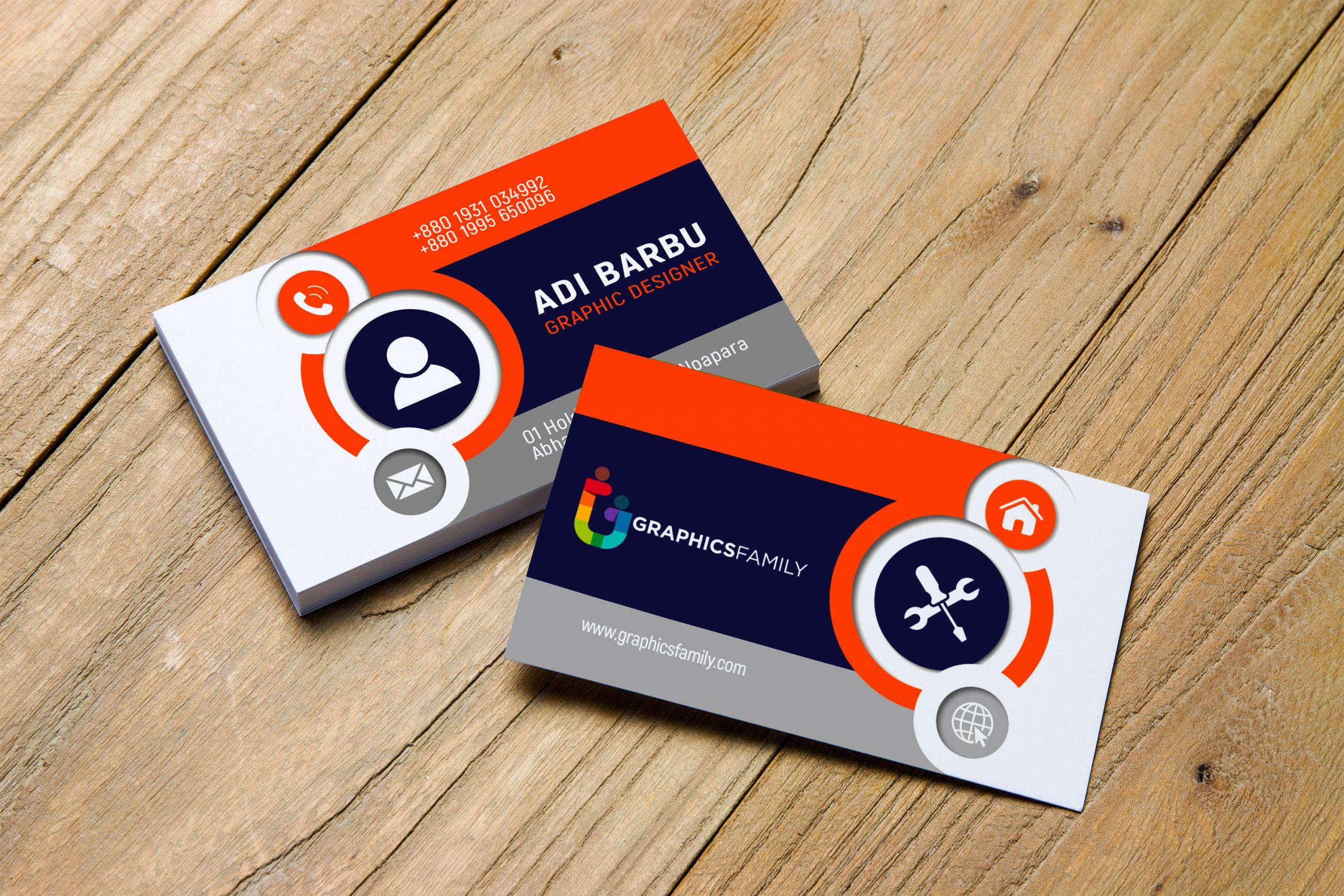 Beautiful & Elegant Business Card Design Download