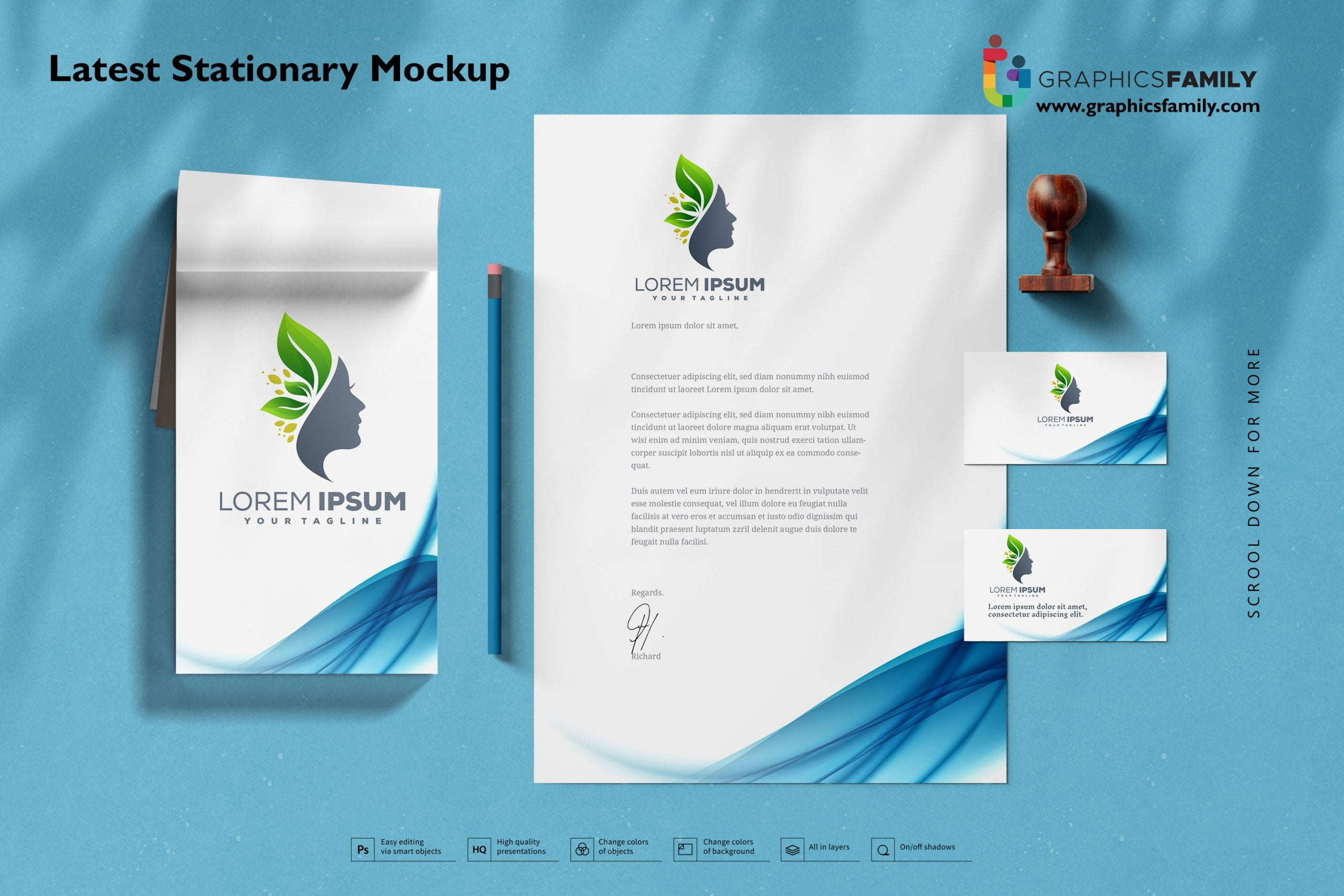 Best Stationery Mockup Download