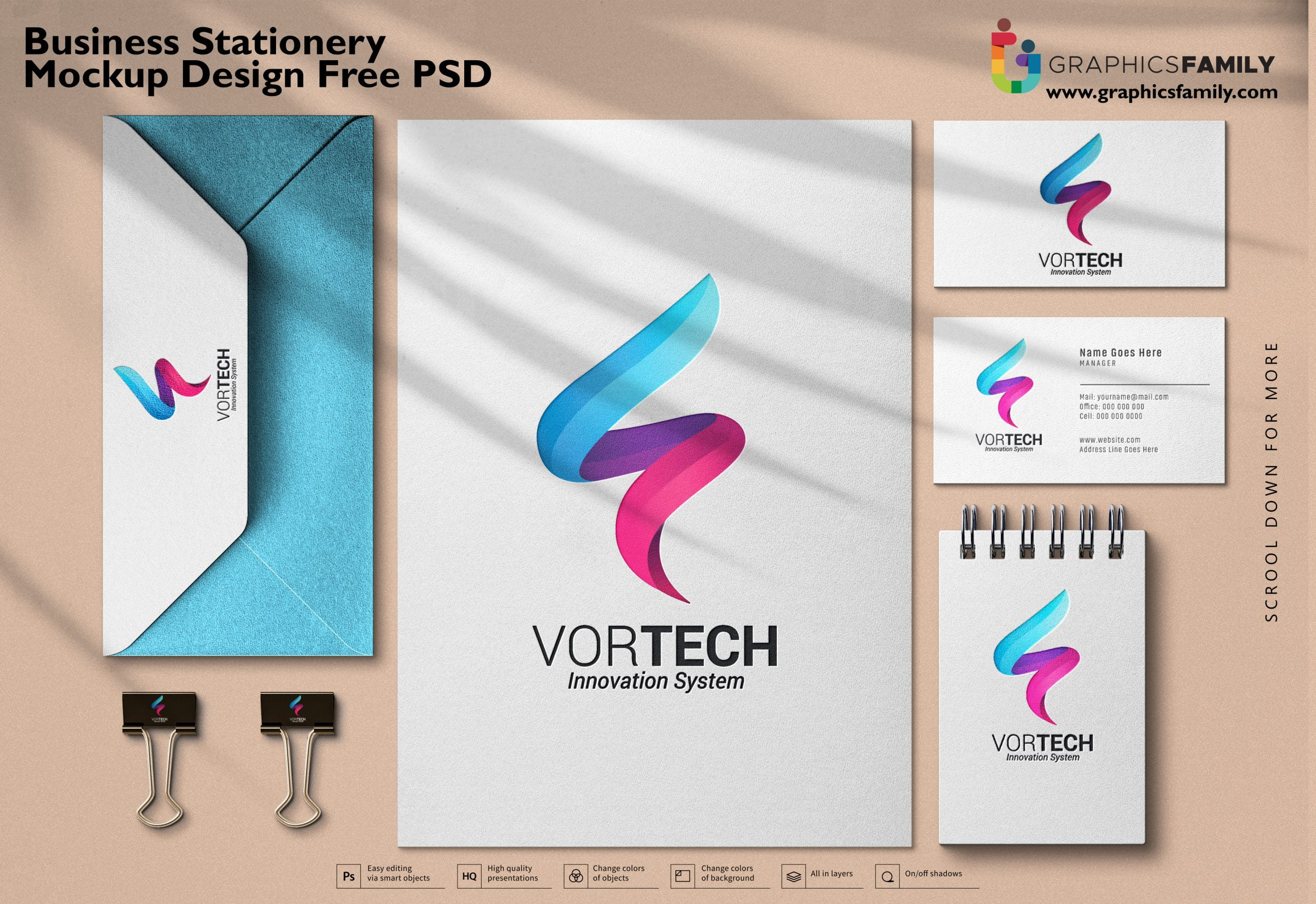 Business-stationery-mock-up-design-Free-Psd
