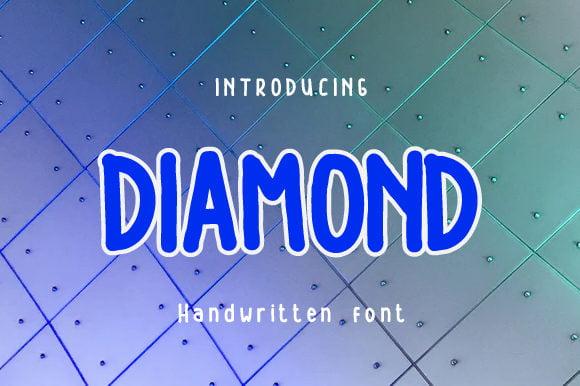 Diamond-Font-Download
