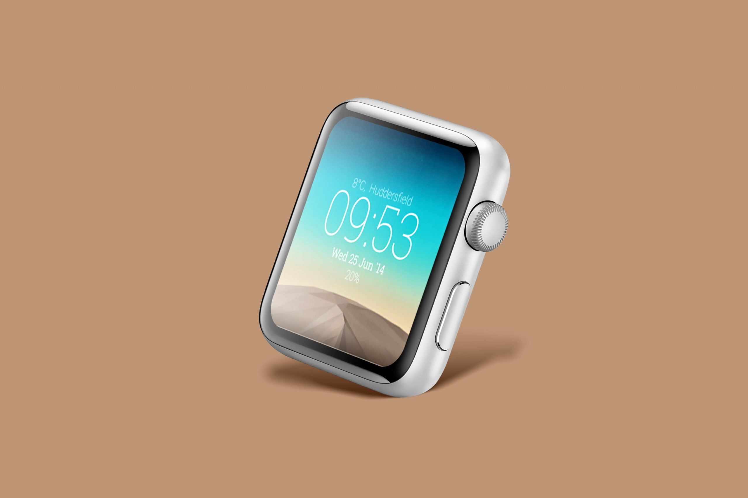 Download Smart Watch Face Mockup