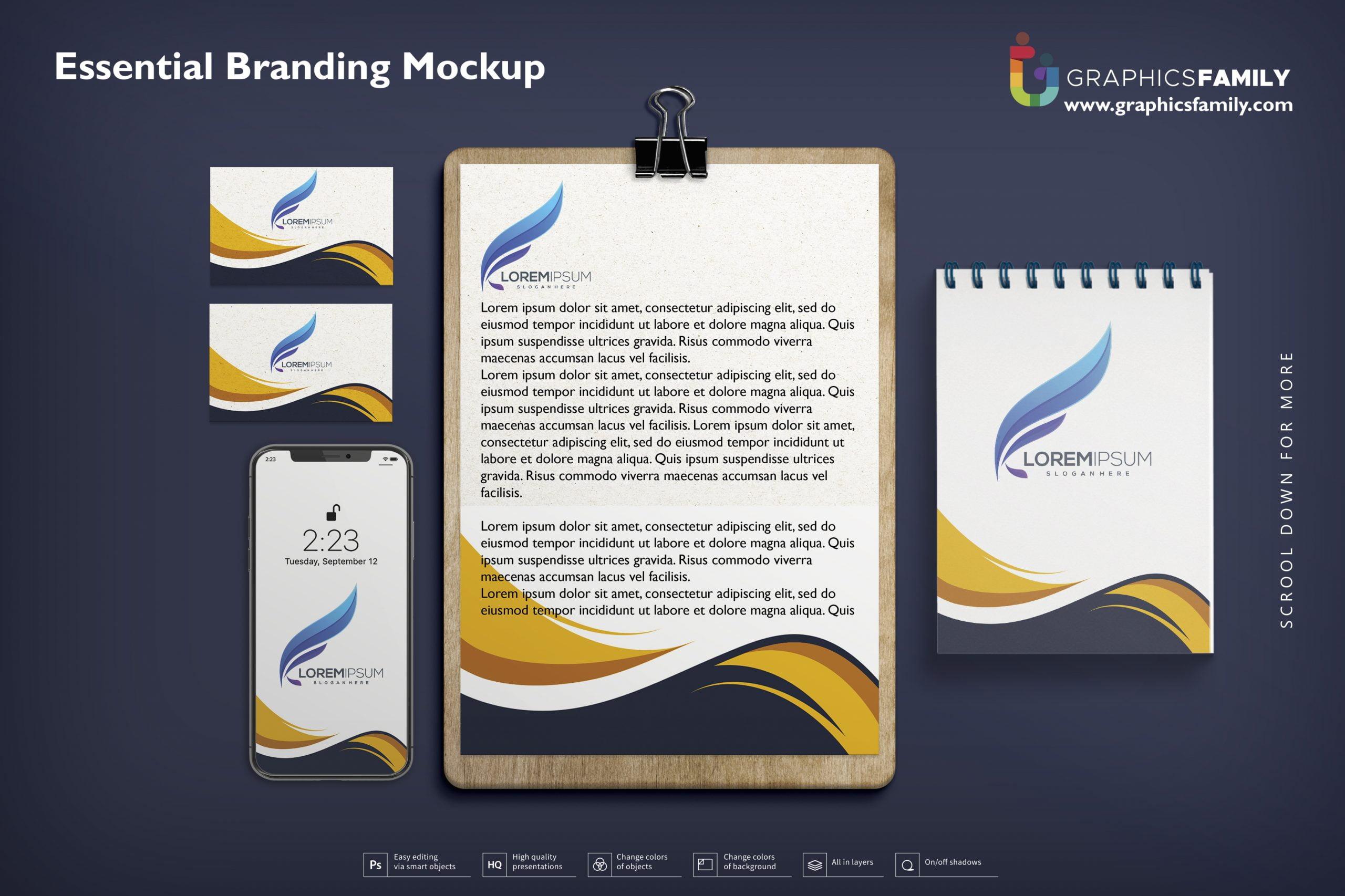 Essential Branding Mockup