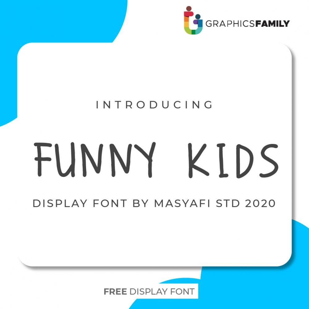 FUNNY KIDS FONT