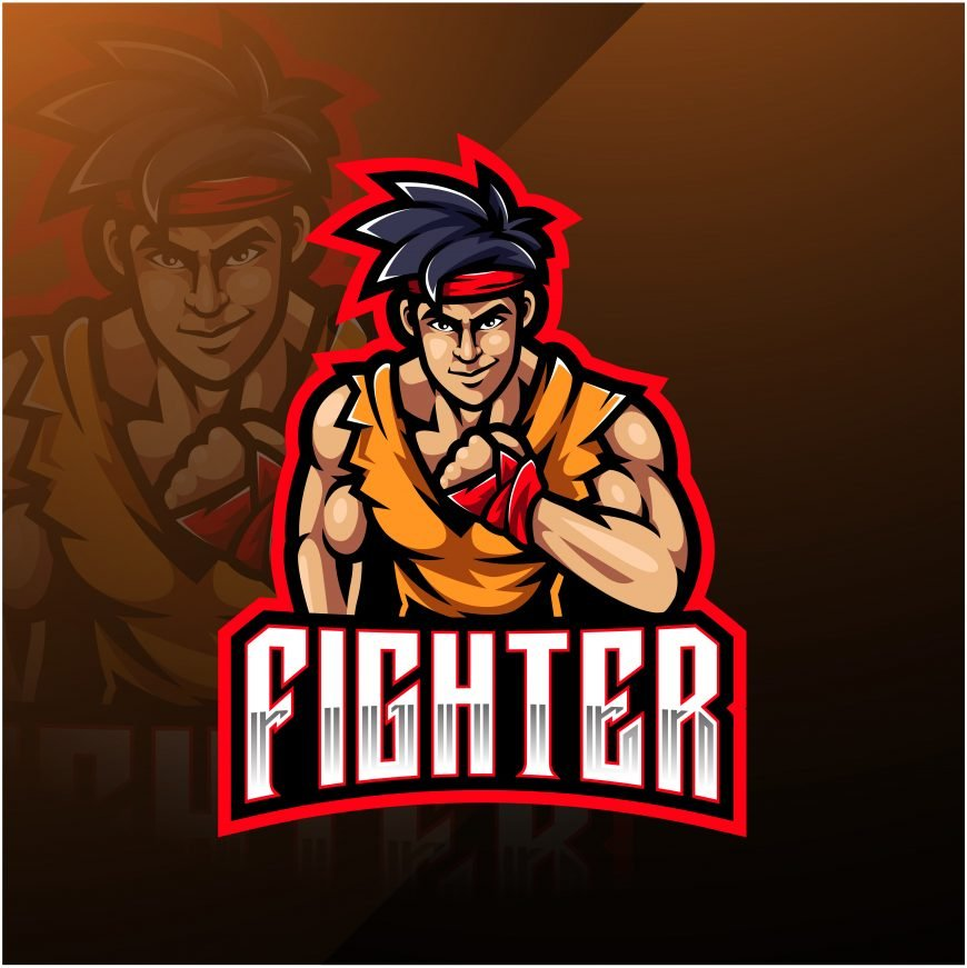 Fighters Esports Gaming Clan Mascot Logo
