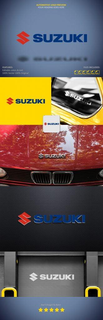 Free Automotive Logo Presentation Mockup