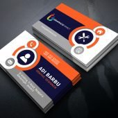 Free Beautiful & Elegant Business Card Design Download