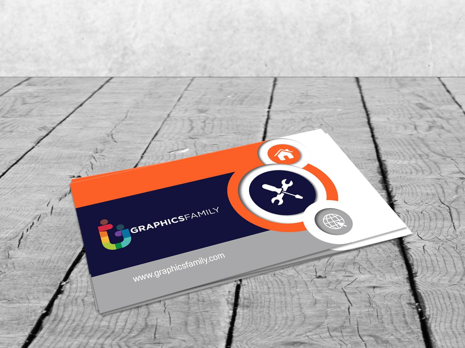 Free Beautiful & Elegant Business Card Design