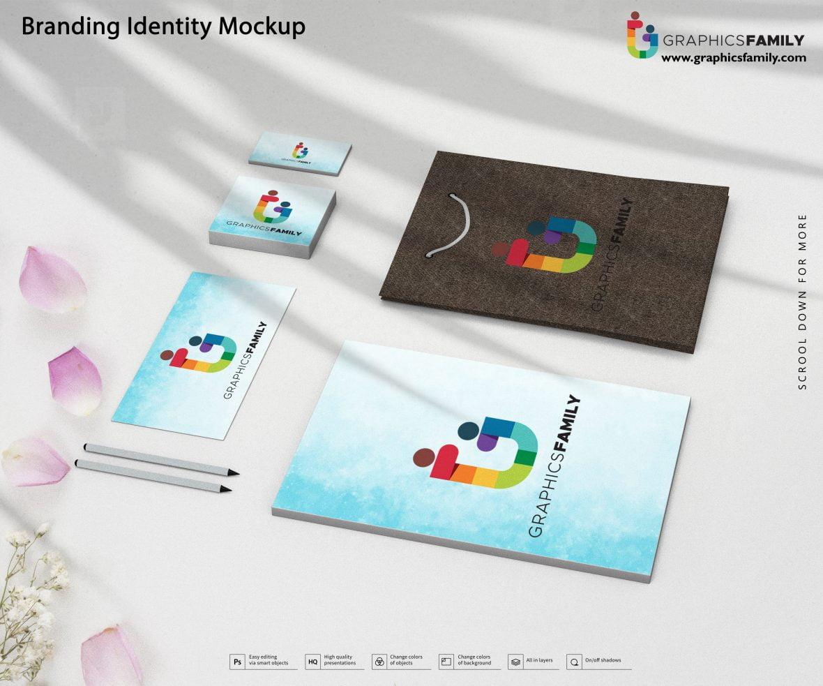 Free High-Quality Branding Identity Mockup