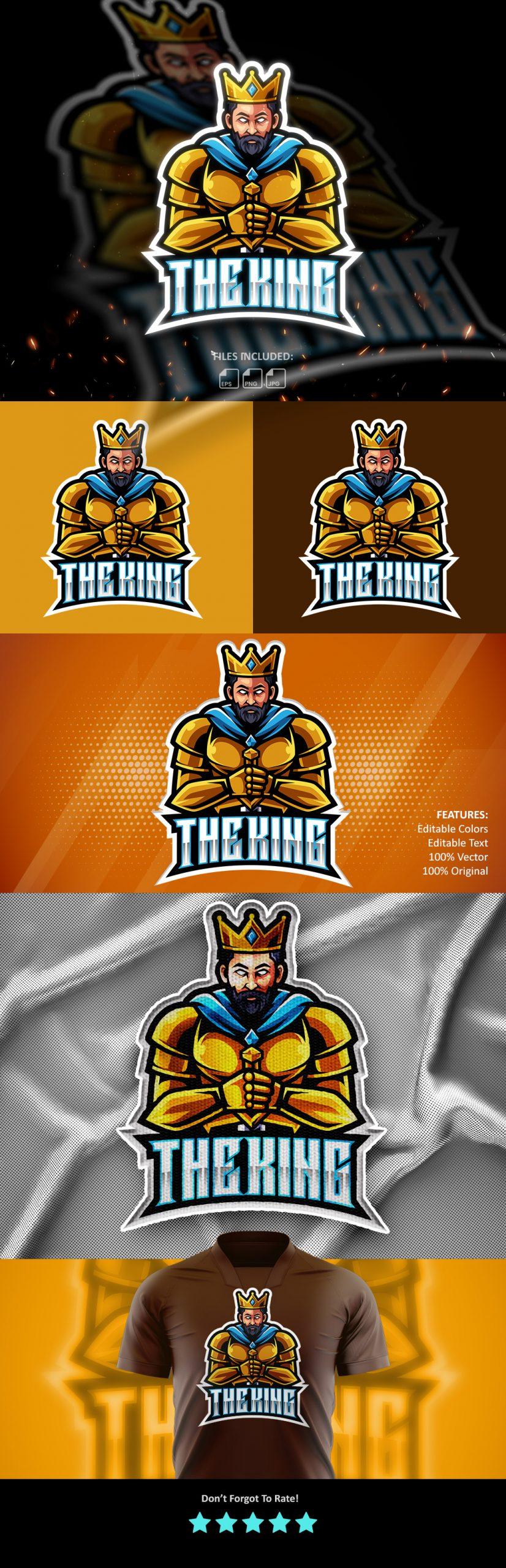 Free-King-Mascot-Logo-Free-Download