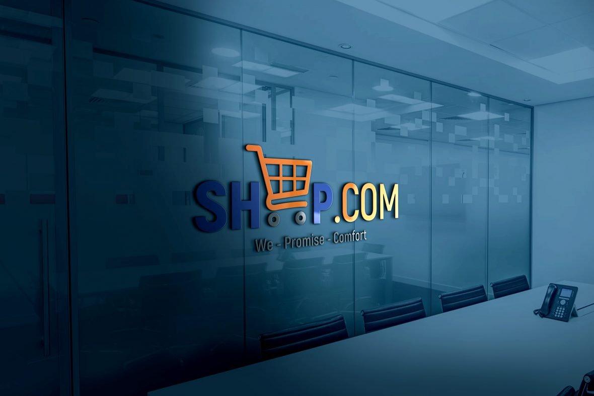 Free Logo Design Template for Online Shop
